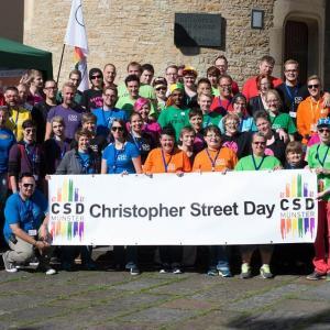 CSD Demo Münster